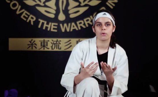 14-year-old Martial art girl